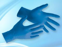 Foto - Nitrilové rukavice veľ: 9